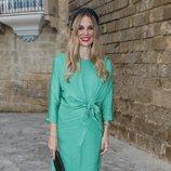 Carola Baleztena en la boda de Ainhoa Arteta y Matías Urrea