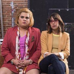 Brays Efe y Belén Cuesta en la tercera temporada de 'Paquita Salas'