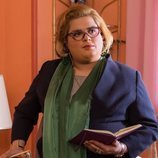 Brays Efe como Paquita en la tercera temporada de 'Paquita Salas'