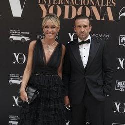 Luján Argüelles con su marido en la 14ª edición de los premios Yo Dona Internacional