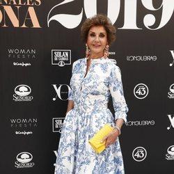 Naty Abascal en la 14ª edición de los premios Yo Dona Internacional