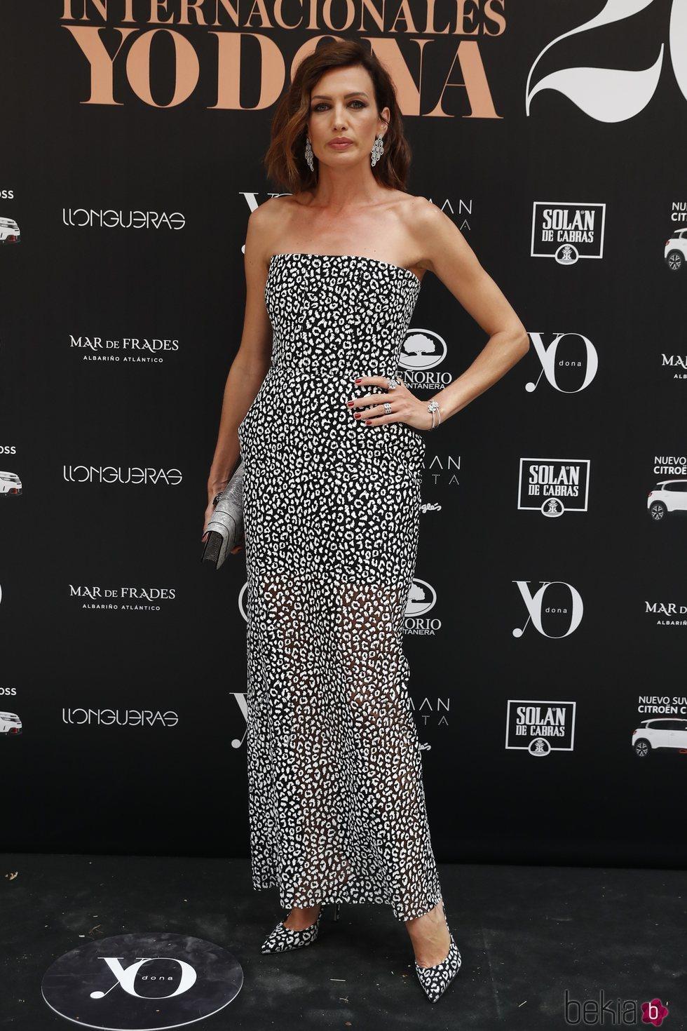 Nieves Álvarez en la 14ª edición de los premios Yo Dona Internacional