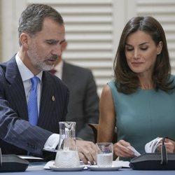 Los Reyes Felipe y Letizia presiden la reunión anual de la Fundación Princesa de Asturias