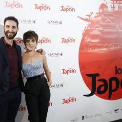 Dani Rovira y María León en la fiesta de la presentación de la película 'Los Japón' que protagonizan juntos