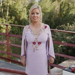 Carmen Borrego en la boda de Belén Esteban