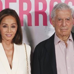 Isabel Preysler y Mario Vargas Llosa presentan 'Mario y los perros'