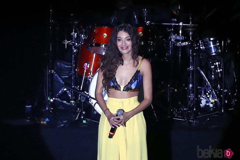 Ana Guerra durante su concierto en la sala But