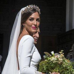 Rocío Osorno vestida de novia