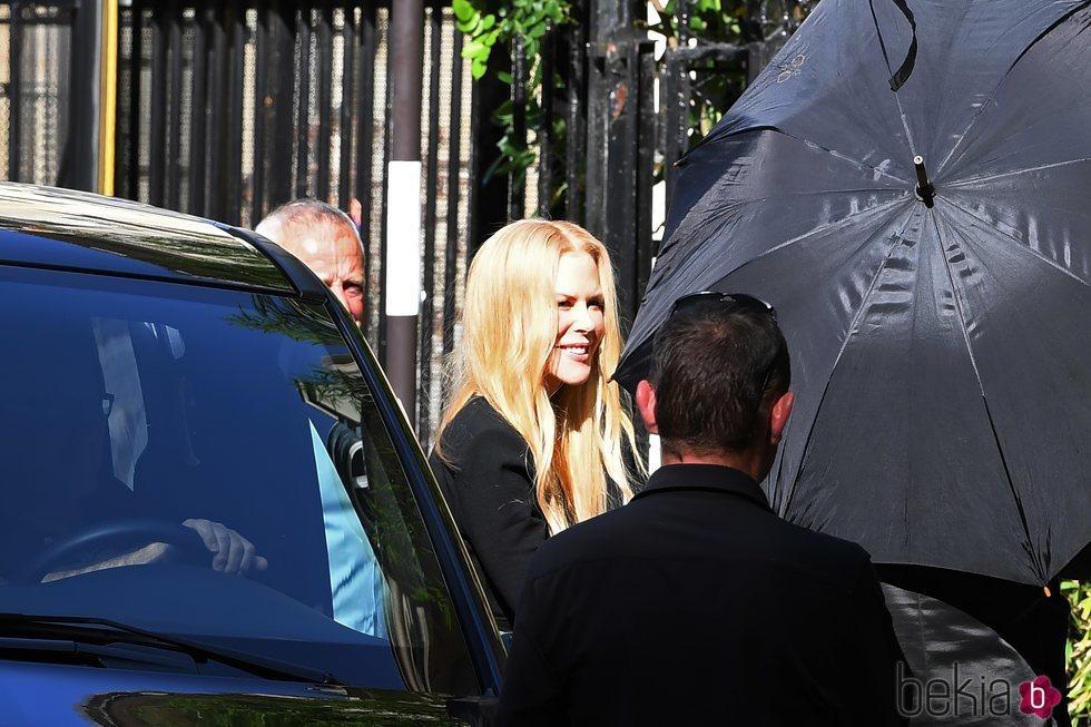 Nicole Kidman en la boda de Zoë Kravitz y Karl Glusman