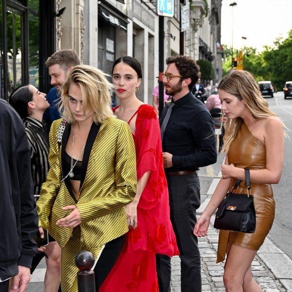 Boda de Zoë Kravitz y Karl Glusman en París