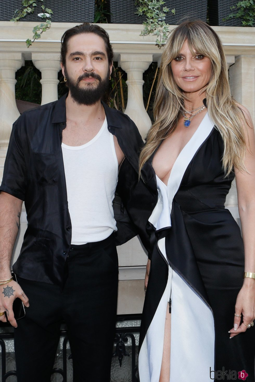 Heidi Klum y Tom Kaulitz en la Semana de la Moda Alta Costura otoño/invierno de París 2019