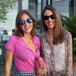 Lourdes Montes y Eva González en la corrida Goyesca de Ronda en 2016