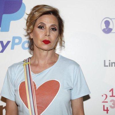 Ágatha Ruiz de la Prada en la presentación de 'Pato el feo'