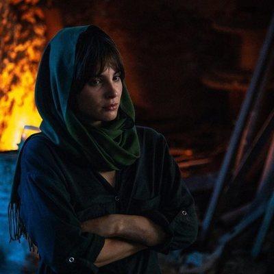Andrea Duro en su papel de 'Promesas de arena'