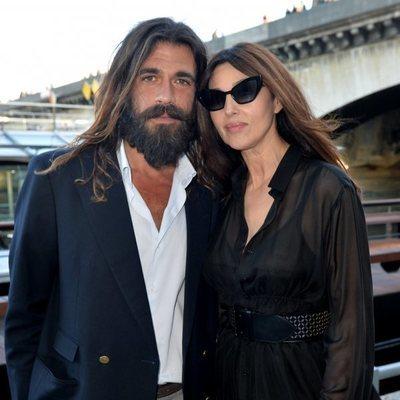 Monica Bellucci y Nicolas Lefebvre