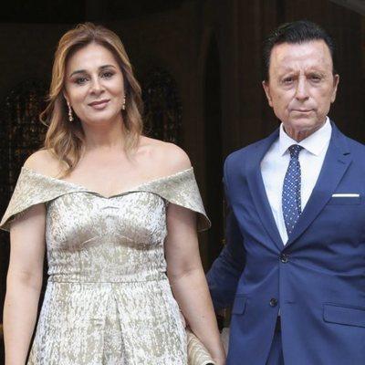 José Ortega Cano y Ana María Aldón en la boda de Dámaso González y Miriam Lanza