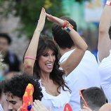 Sonia Ferrer en el desfile del Orgullo 2019