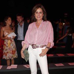Nuria González en el desfile de Ágatha Ruiz de la Prada en la MBFWMadrid 2019