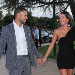 Mario Suárez y Malena Costa, muy cómplices en el 26 aniversario de GQ