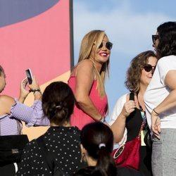Belén Esteban, muy entusiasmada en el Mad Cool Festival 2019