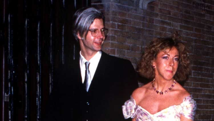 Jacobo Fitz-James Stuart y su primera mujer, María Eugenia Fernández de Castro, en una boda
