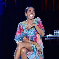Isabel Pantoja sonriente en la gala 12 de 'Supervivientes 2019'