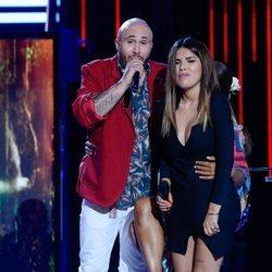 Kiko Rivera y Chabelita Pantoja en la gala 12 de 'Supervivientes 2019'