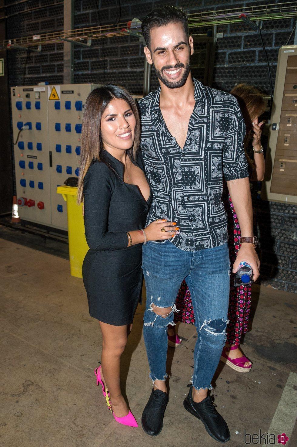Chabelita Pantoja y Asraf Beno en la gala 12 de 'Supervivientes 2019'