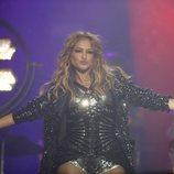Paulina Rubio en el concierto de 'La Voz'