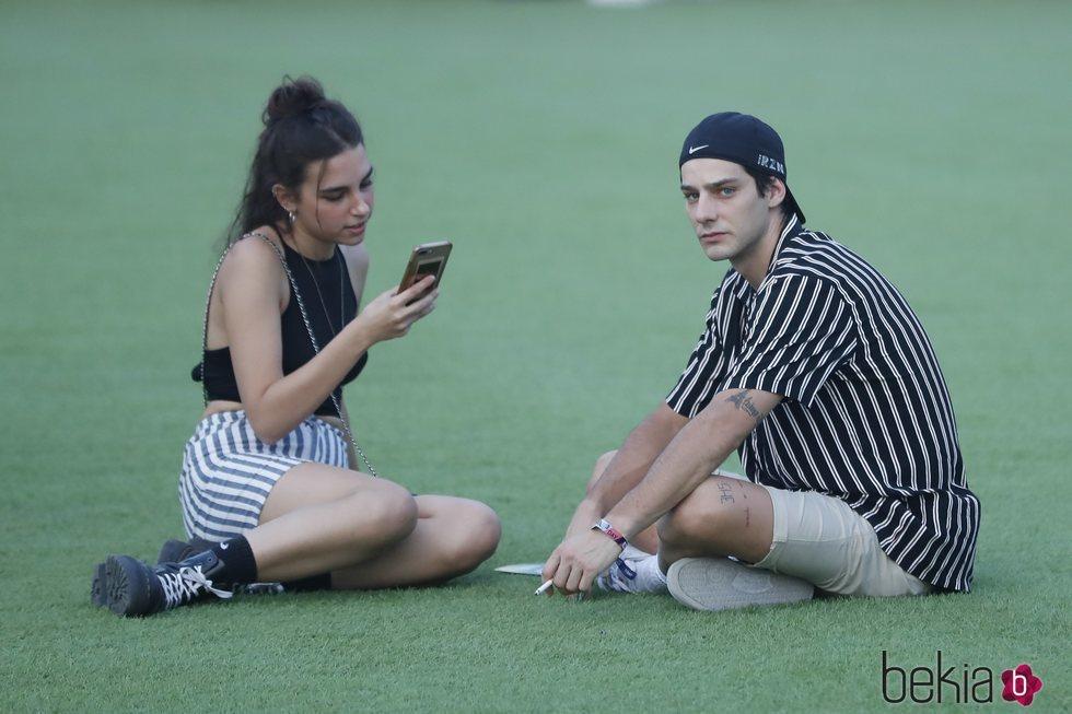 Joel Bosqued y su novia en el Festival Mad Cool 2019