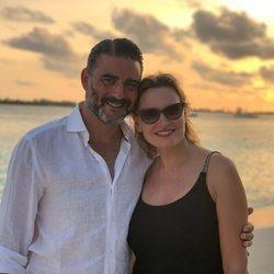 Ainhoa Arteta y Matías Urrea en su luna de miel en Maldivas