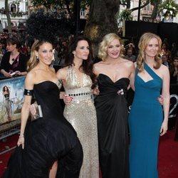 Las actrices de Sexo en Nueva York