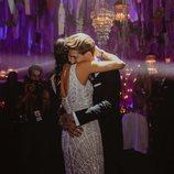 Pilar Rubio y Sergio Ramos fundidos en un abrazo el día de su boda