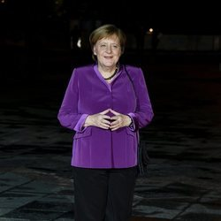 Angela Merkel en la conmemoración de los 100 años del Día del Armisticio