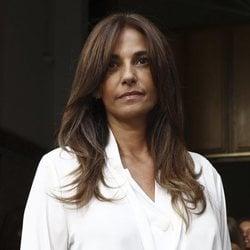 Mariló Montero en el funeral de Arturo Fernández