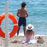 José María Aznar y Ana Botella en Marbella