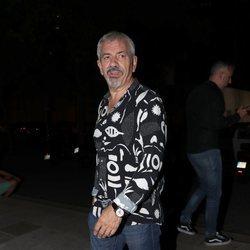 Carlos Sobera a su llegada a la fiesta de despedida de 'Supervivientes 2019'