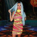 Mahi Masegosa, con un llamativo vestido en el debate final de 'Supervivientes 2019'