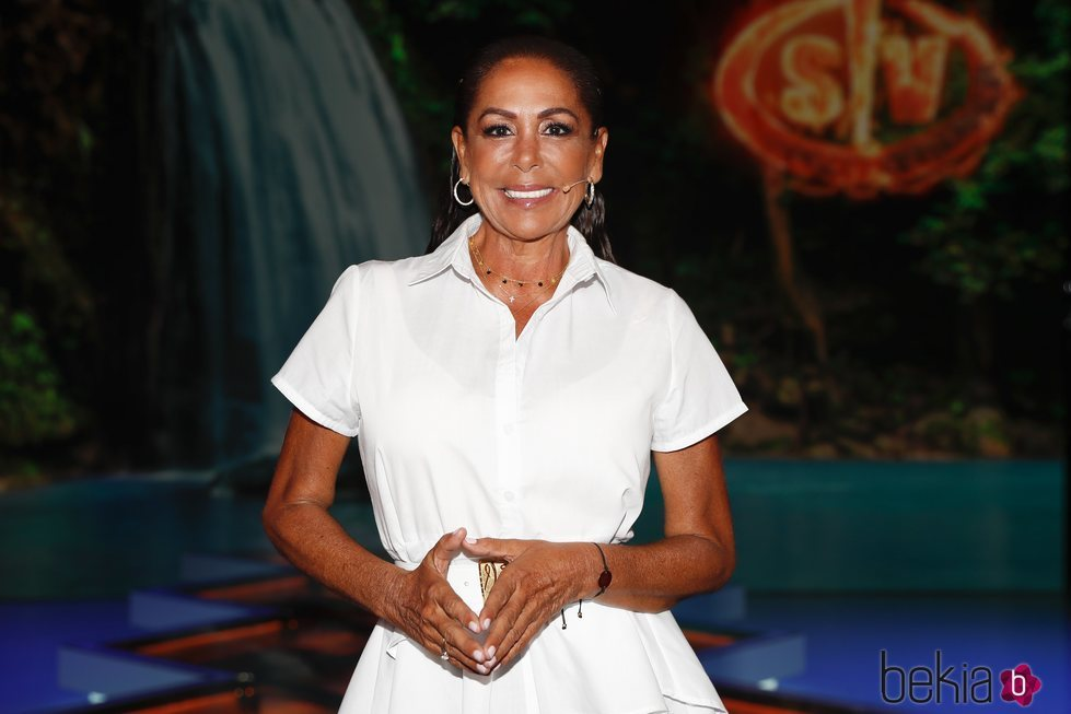 Isabel Pantoja durante el debate final de 'Supervivientes 2019'