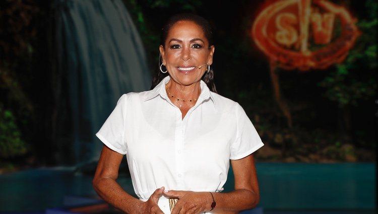 Isabel Pantoja durante el debate final de 'Supervivientes 2019'