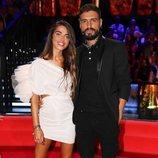 Violeta Mangriñán y Fabio Colloricchio en el debate final de 'Supervivientes 2019'