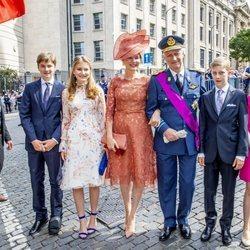 La Familia Real de Bélgica celebra el Día Nacional 2019