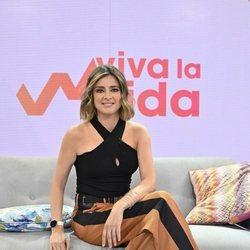 Sandra Barneda presentando 'Viva la vida'