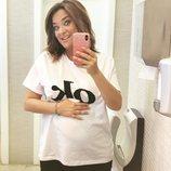 Toñi Moreno presume por primera vez de su barriguita de embarazada