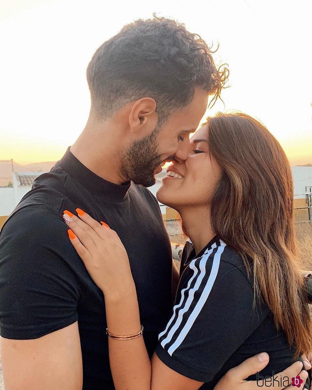 Asraf Beno y Chabelita Pantoja