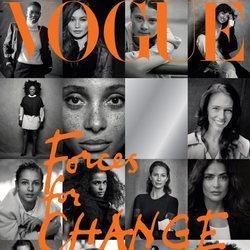 Portada del número de Vogue UK de septiembre de 2019 editada por Meghan Markle
