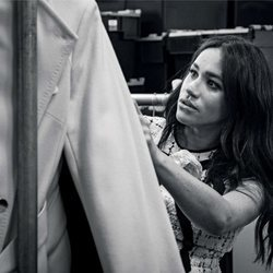 Meghan Markle en su colaboración con Vogue