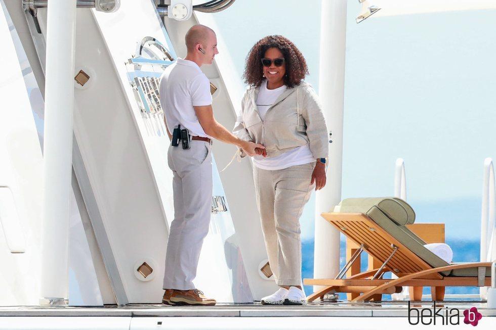 Oprah Winfrey de vacaciones por Ibiza