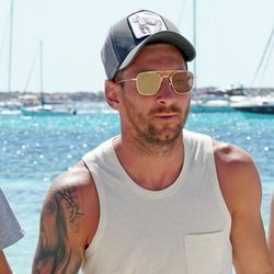 Leo Messi durante sus vacaciones en Ibiza 2019