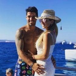 Luis Suárez y Sofía Balbi en sus vacacioens de verano en Ibiza